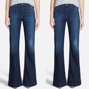7 for All Mankind Ginger trouser flare jeans 29